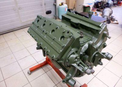 1936 Cadillac Flathead mootor