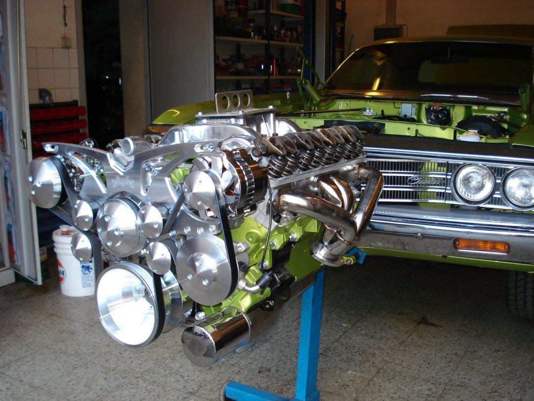 Mootor 512 cid BBM