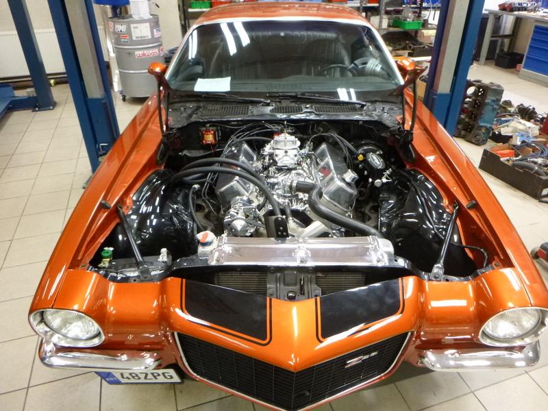 454 -> 496 cid Stroker  1971 Camaro