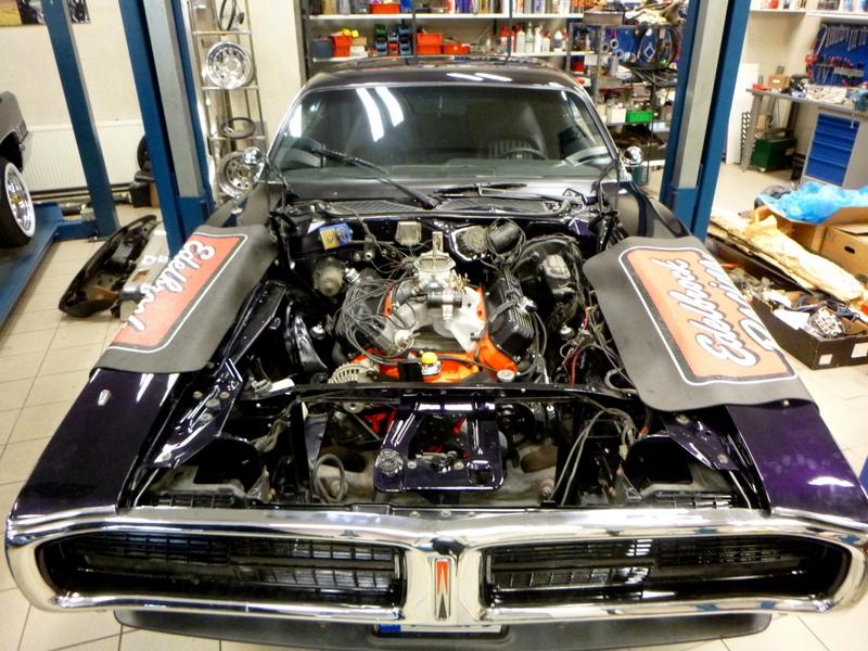 440 cid BBM    1971 Charger