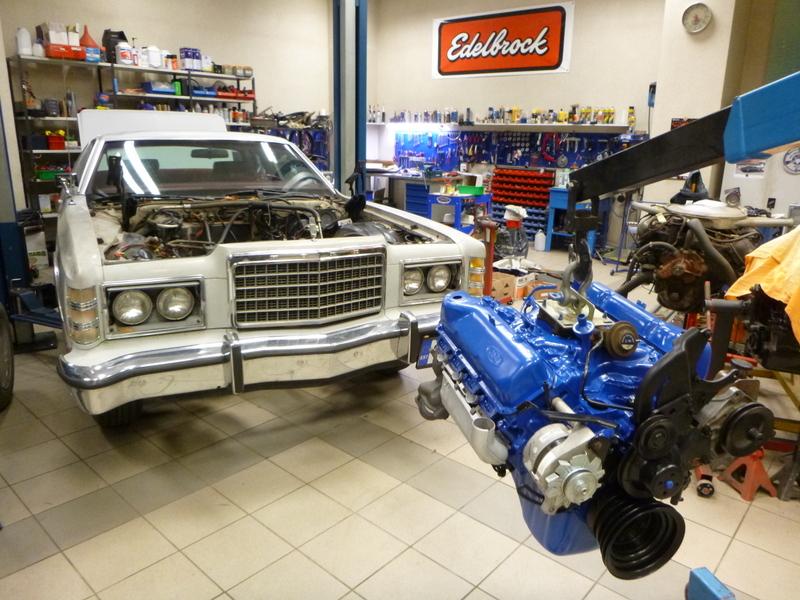 400 cid 1978 Ford LTD